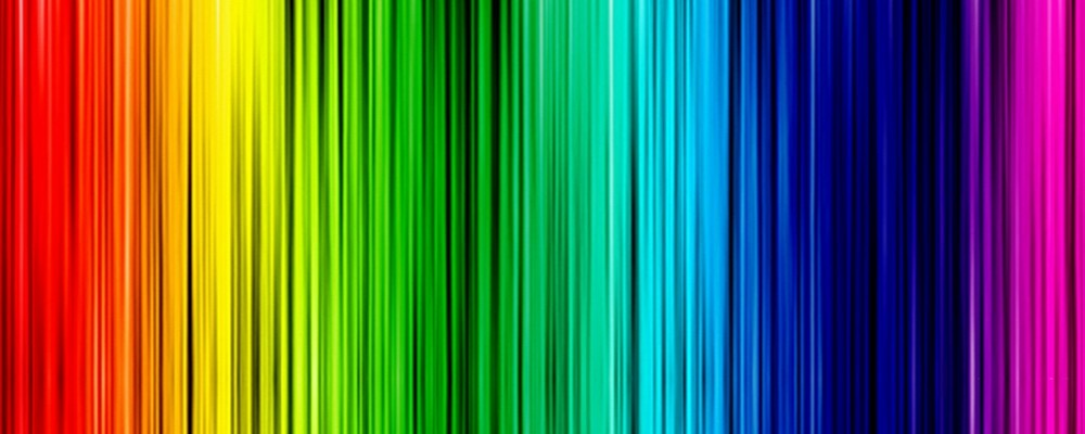 collar rainbow lines