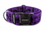 Collar dogXmas - Color Fuchsia Violet