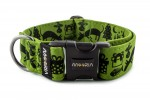 Collar dogXmas - Color Lime Green