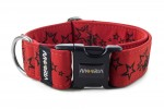 Collar Stars - Color Royal Red