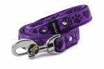 Leash Hearts - Color Fuchsia Violet