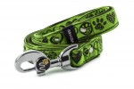 Leash Hearts - Color Lime Green