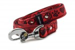 Leash Hearts - Color Royal Red
