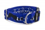 Collar Border Collie Life Blue - Detail of D-ring