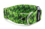 Collar Digital Green - Detail of D-ring
