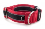 Collar Reflex Royal Red II - Detail of D-ring