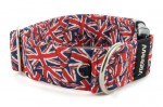 Collar Union Jack - Detail of D-ring
