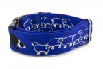 Collar Border Collie Life Blue - Detail of the pattern