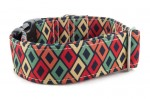 Collar Color Rhombus - Detail of the pattern