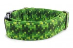 Collar Digital Green - Detail of the pattern