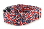 Collar Union Jack - Detail of the pattern