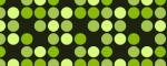 Collar Bright Green Dots - Pattern