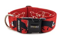 Collar Border Collie Life Red