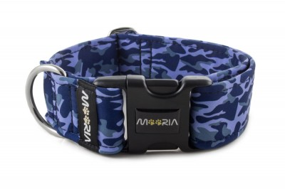Collar Camouflage Blue