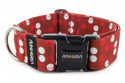 Collar Red Dots