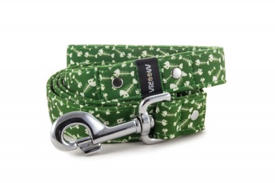 Leash Fishbone Green