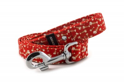 Leash Fishbone Red