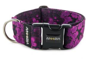 Collar Abstract Purple