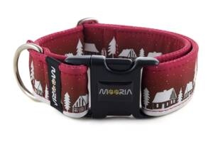 Collar Winter Village Red