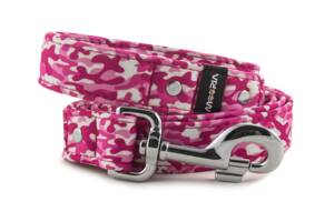 Leash Camouflage Pink